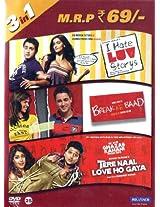 Tere Naal Love Ho Gaya / I Hate Luv Storys / Break Ke Baad (3in1 DVD, DTS Stereo)