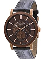 Kenneth Cole Automatic Analog Brown Dial Mens Watch-IKC1933