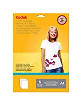 KODAK T-SHIRT TRANSFERS PAPER (5 sheets)
