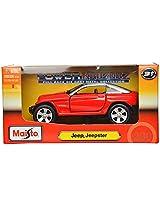 Maisto Jeepster Die Cast Toy Car (Red)