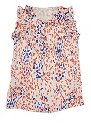 Pepe Jeans Kids Kleid Segrina (wieß/orange/blau)