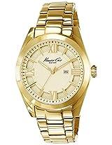 Kenneth Cole Dress Sport Analog Gold Dial Women's Watch - 10023857