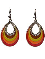 Saadi Gali Brass Dangle & Drop Earring For Women (Multi-Colour)