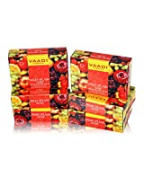 Vaadi Herbals Fruit Splash Soap with Extracts of Orange, Peach, Green Apple and Lemon, 75g