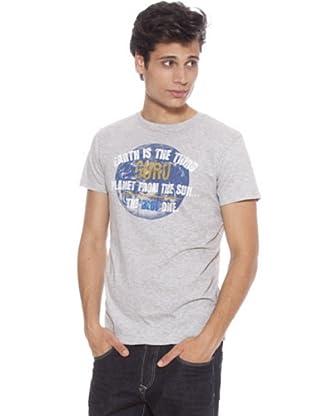 Guru Camiseta Planeta (Gris)