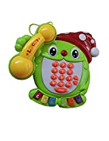 Kids Funny EducationalTelephone Set With Number, Graphics, Light And Music