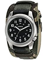 Geneva Men's FMDJM524 Analog Display Quartz Multi-Color Watch