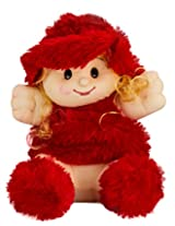 Singing Attractive Red doll (17 inch)