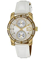 Marc Ecko Analog Silver Dial Women's Watch - E10039L2