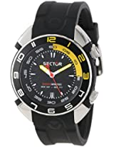 Sector Analog Black Dial Men's Watch - R3251178125