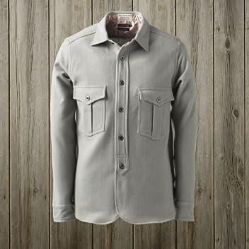 40s W-Pocket Work Shirt SN-12FW-42: Grey