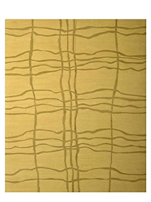 French Accents Modern Flatweave Killim Rug (Grass)