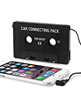 eForCity Car Tape Cassette Adapter for iPod/CD/MP3 Player