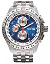 Swatch Blunge SVGK400G Chronograph Watch - For Men