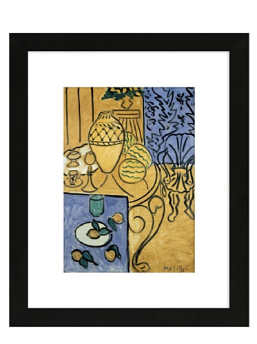 Matisse - Interior in Yellow and Blue, 1946, 15.8