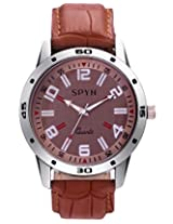 SPYN Men's casual formal wrist watch