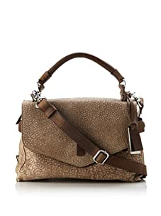 Gryson Women's Ruby Textured Belted Top Handle Messenger (Camel Lamb)