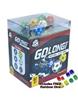 GoLong Football Dice Game - Travel Edition. Plus Free Rainbow Dice!