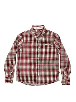 Pepe Jeans London Camisa Aston (Rojo / Blanco)