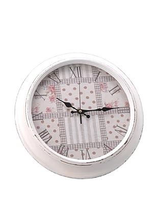 Amadeus Reloj Flores 40 cm Diámetro Madera