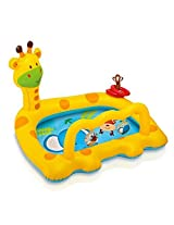 "Intex Smiley Giraffe Inflatable Baby Pool, 44"" X 36"" X 28 1/2"", for Ages 1-3 by Intex"