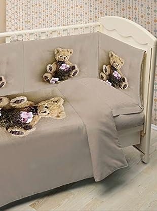 Ipersan Kinderbett Duvet Set Fine Art Funny Bear