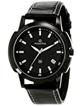 Maxima Attivo Analog Black Dial Men's Watch - 22570LMGB