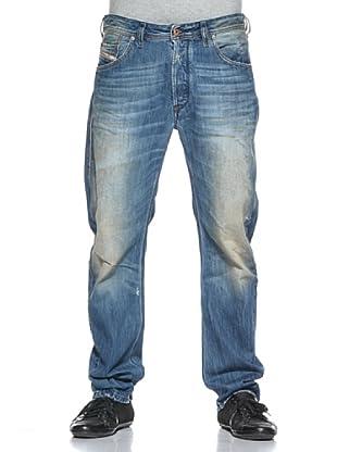 Diesel Pantalón Vaquero Bravefort (Azul Denim)