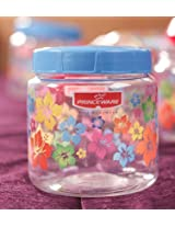 Princeware Julia Pet Jar 1000 ML Blue