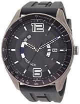 Tommy Hilfiger Men's 1790799 Sport Grey Tonal Silicon Watch