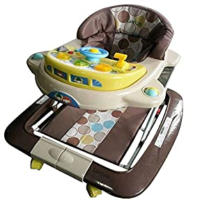 Luvlap Baby Royal Walker (Cappuccino)