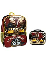 Minion Movie Pirate 16 Backpack & Lunch Box - Ahoy Matie