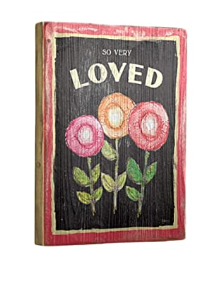 Artehouse So Very Loved Reclaimed Wood Sign