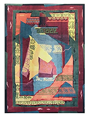 Bashian Tibetan Rug, Multi, 8.10X11.10