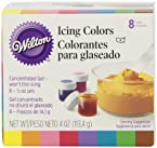 Wilton Set of 8 Icing Colors
