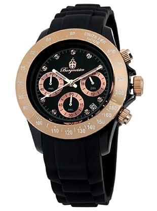 Burgmeister Damen-Armbanduhr Chronograph Quarz Silikon BM514-622B