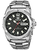 REACTOR Men's 49001 Fission Black Carbon Fiber Dial Watch (Amazon Exclusive)