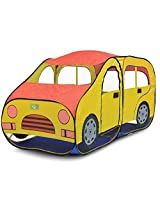 PIGLOO Car Pop-Up Tent Play House for Kids Ages 3+ Years, 176 x 89 x 92 cm, 1 Piece