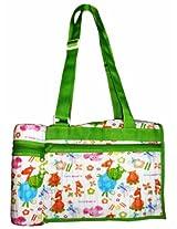 Morisons Baby Dreams Bag with Bottle warmer - Green