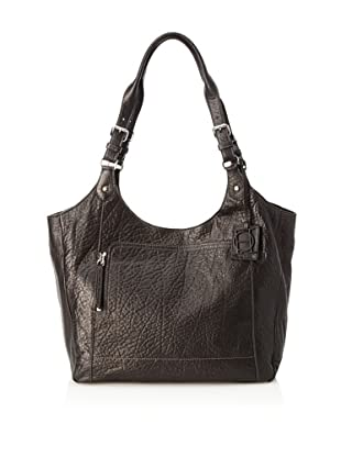 OH by Joy Gryson Unzipped Front Pocket Shopper (Black)