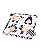 Bigjigs Toys BJ514 Animals Black and White Puzzle