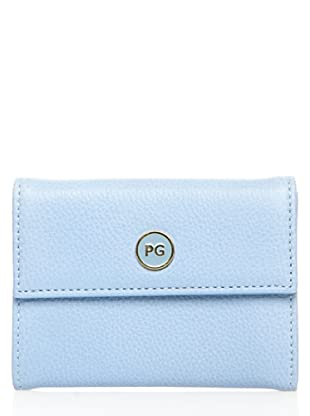 Purificación Garcia Double Little Wallet azul cielo
