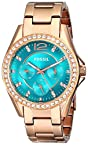 Fossil Analog Blue Dial Unisex Watch ES3385