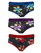 Lure Entice Print Belted Briefs (Pack of 3)