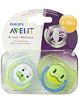 Philips Avent 2 Pack BPA Free Pacifier