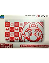 Nintendo 3DS XL White & Red Mario Limited Edition