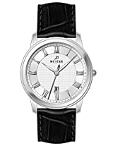 Westar Analog Silver Dial Men's Watch 5586STN107