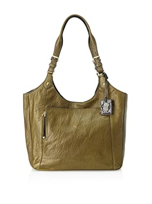 OH by Joy Gryson Unzipped Front Pocket Shopper (Olive)