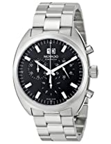 Movado Men's 0606476 Datron Quartz Chronograph Stainless-Steel Black Dial Watch