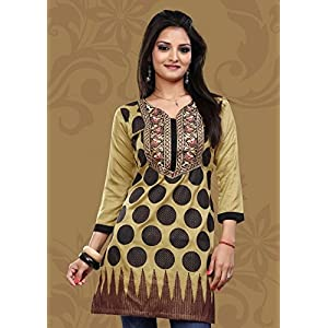 Kelly SCMA-31 Hand Embroidered Kurti - Green